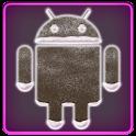 ICS Pro WHITE Pink GO Theme+ logo