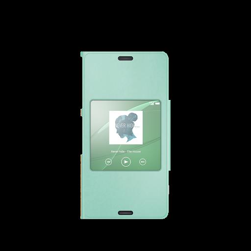 Xperia™桌布︰綠色