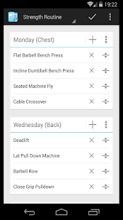 FitNotes - Gym Workout Log - screenshot thumbnail