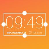 Desk Clock Resizable Widget