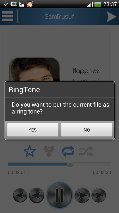 Sami Yusuf - song & Ringtone - screenshot