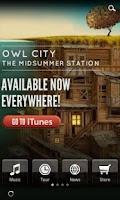 Screenshot of Owl City Official
