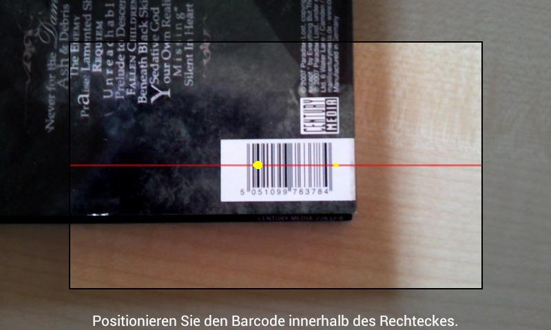 Picard Barcode Scanner- screenshot