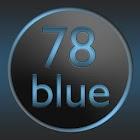78blue icons - Nova Apex Holo icon