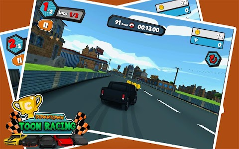 Downtown Car Toon Racing v1.2