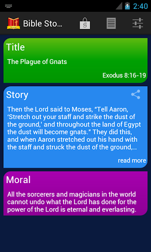 Bible Story of the Day