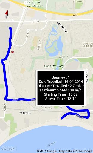 Track My Journeys