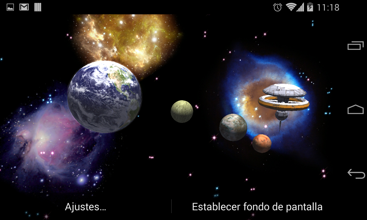 3d space live wallpaper full android apps on google play