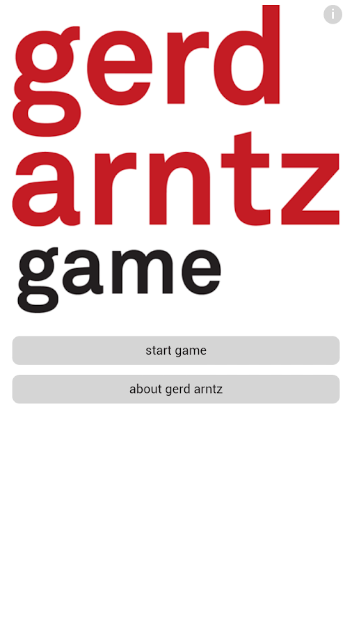 Gerd Arntz Game - screenshot