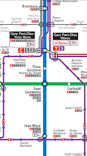 Lyon Public Transport Pro - náhled