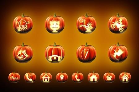 Pumpkin Halloween Icon Pack v1.2.0