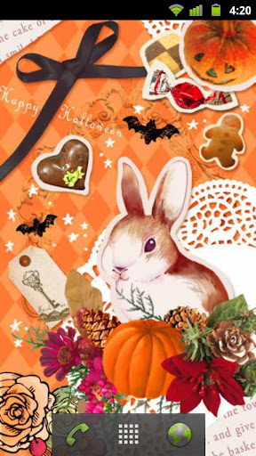 Happy Halloween ライブ壁紙