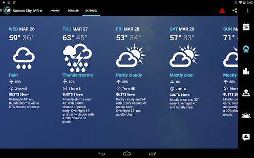 1Weather:Widget Forecast Radar Screenshot 15