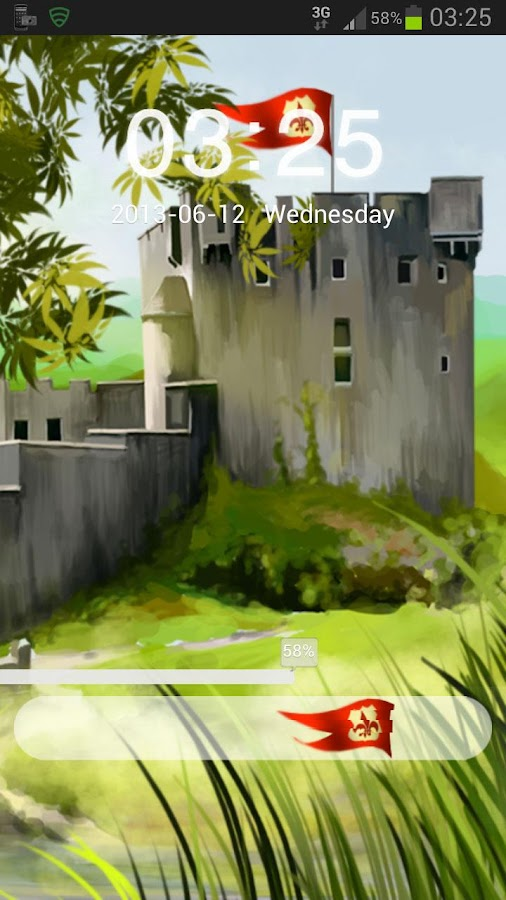 GO Locker Theme Castle - screenshot