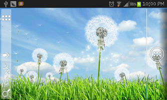 Screenshot of Galaxy Series Dandelion LWP