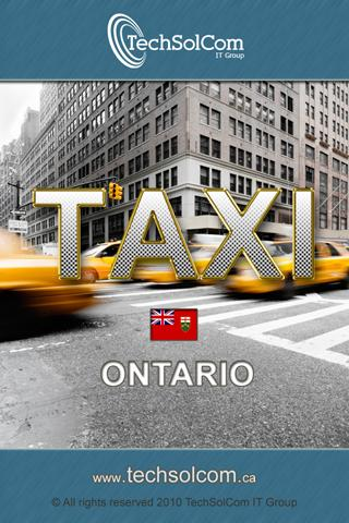 Taxi Ontario- screenshot
