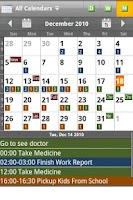 Screenshot of Checkmark All-in-One Calendar