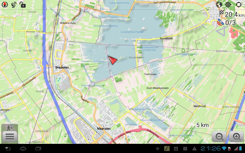 #9. Maps & GPS Navigation OsmAnd+ (Android)