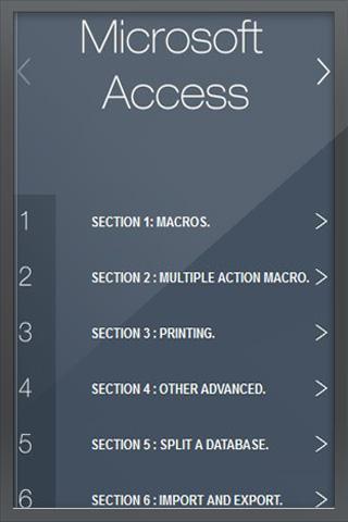 Learn Advanced Access