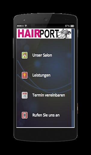 Friseur Hairdresser Demo App