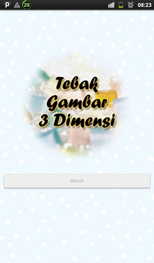 Tebak Gambar 3 Dimensi - Android Apps on Google Play