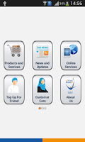 Screenshot of Omantel Apps