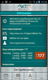 Akt Mobilbillett - screenshot thumbnail