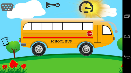 Toddler Kids School Bus Toy
