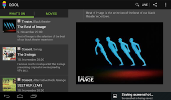 Screenshot of Prague events & tickets | Qool