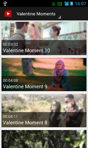Valentine Moment Video