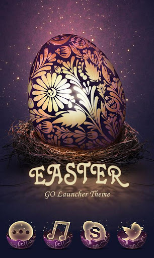 Easter eggs GO Launcher Theme