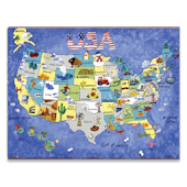 USA Travel Attractions Locator
