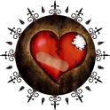 Heart Clock Widget logo