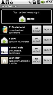Home Switcher - screenshot thumbnail