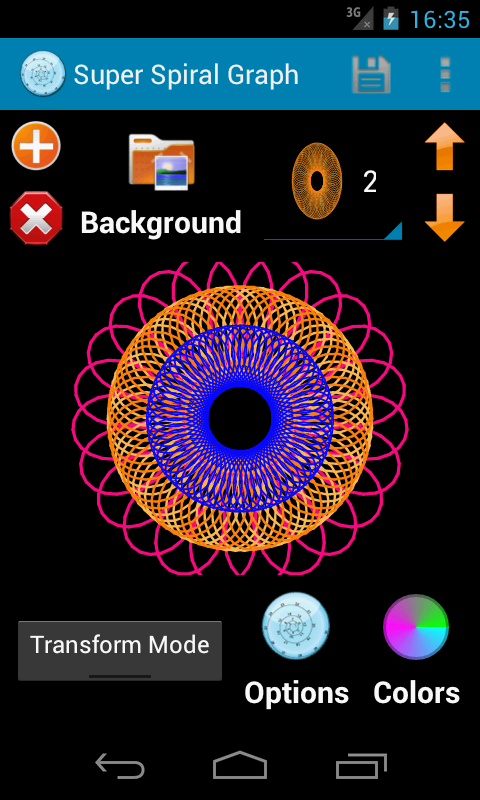 Super Spiral Graph - screenshot