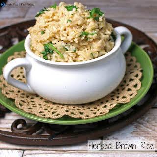 Herbed Brown Rice.