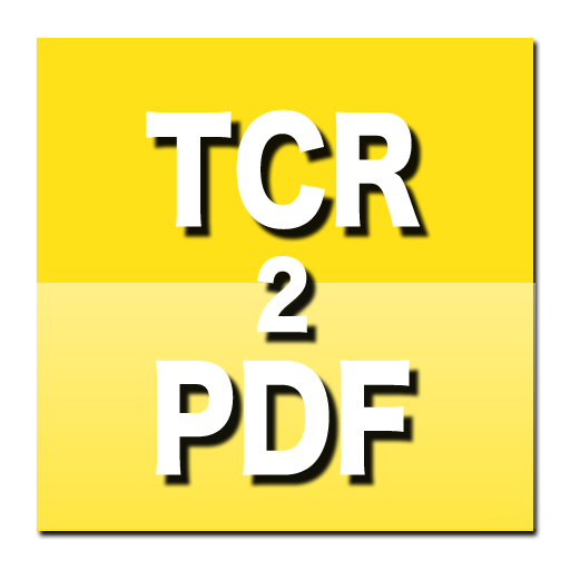 TCR eBook to PDF Converter 生產應用 App LOGO-APP試玩