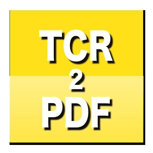TCR eBook to PDF Converter 生產應用 App LOGO-APP試玩
