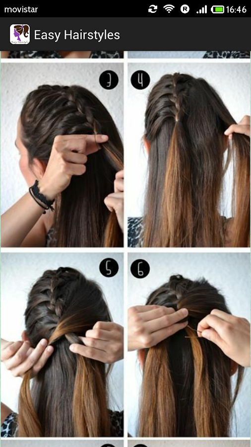 Excellent Easy Hairstyles Step By Step Android Apps On Google Play Hairstyle Inspiration Daily Dogsangcom