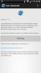Auto Bluetooth - Donate v1.53