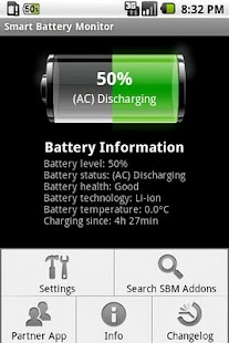 Smart Battery Monitor - screenshot thumbnail