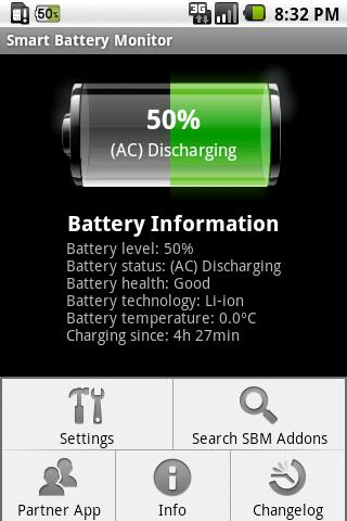 Smart Battery Monitor- screenshot