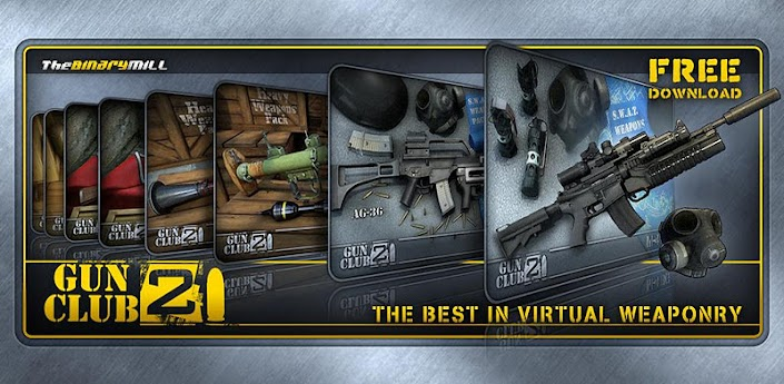 Gun Club 2 - скачать реалистиный симулятор стрельбы для Андроид