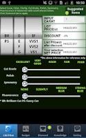 Screenshot of MyJewelry Check Diamond Price