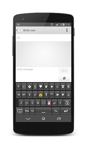 android TypeDroid Pro with Keyboard Screenshot 13