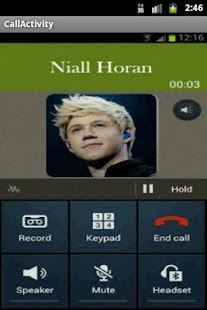 One Direction Call - screenshot thumbnail