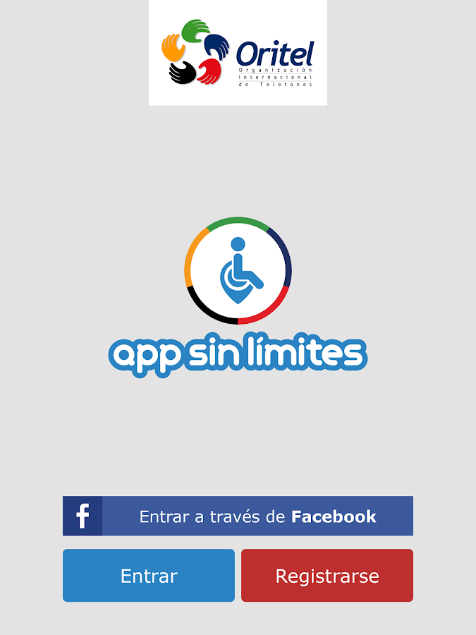 App Sin Límites- screenshot