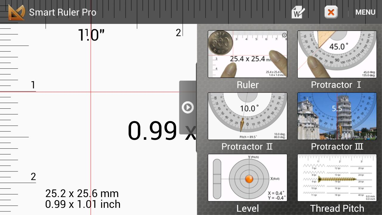Smart Ruler Pro - screenshot