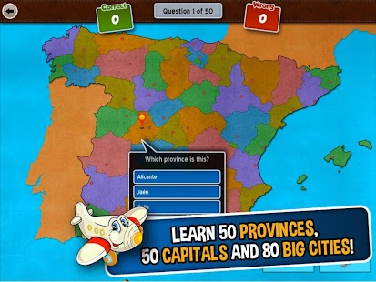GeoFlight Spain: Geography- screenshot thumbnail