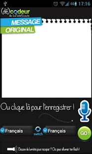 Codeur / décodeur de messages- screenshot thumbnail